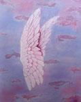 Angelsmagic..... Acryl auf Leinwand 100 x 80 cm                     250.--€