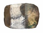 """"""" Trommeln und Tanzende""""   17 X 24 cm   Öl auf Tonplatte, 2016, verkauft"""