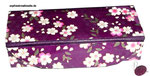 Stiftebox / Brillenetui mit Japanpapier