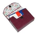aupappe für Taschentücher ( 8,5 cm x 6 cm x 2,5 cm )