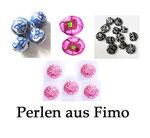 Perlen aus Fimo