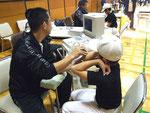 超音波肘関節チェック