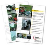 Produkteblätter Jordi Land-und Komunaltechnik
