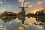 Landschapsfotografie: Zaagmolen De Rat te IJlst (Friesland, Nederland).