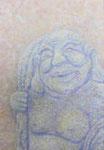 「daily piece」アクリル絵具 キャンバス 23×16cm 2015年
