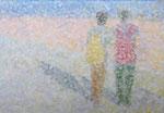 「daily piece」アクリル絵具 キャンバス 16×23cm 2015年