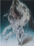 """「あ""""あ""""~」 キャンバス、アクリル絵具、117cm×91cm、2008年、第12回 リキテックス・ビエンナーレ入選"""