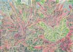 「daily piece」アクリル絵具 キャンバス 24×33cm 2015年