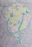 「daily piece」アクリル絵具 キャンバス 23×16cm 2015年 個人蔵