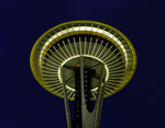 Space Needle in Seattle - Washington State by Ralf Mayer