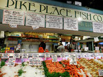 Pike Place Market in Seattle - Washington State by Ralf Mayer