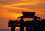 Fishing Pier in Naples - Florida by Ralf Mayer