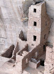 Square Tower House - Mesa Verde N.P.- Colorado by Ralf Mayer