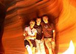 "Upper Antelope Canyon ""Happy Familiy"" - Arizona by Ralf Mayer"