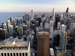 Chicago - View from Hancock Center by Ralf Mayer