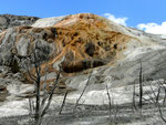 Mammoth Hot Springs - Yellowstone Nationalpark by Ralf Mayer