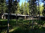 Unsere schöne Blockhütte - Grand Teton Nationalpark - Wyoming by Ralf Mayer