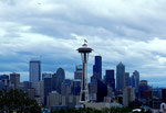 Skyline Seattle - Washington State by Ralf Mayer