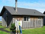 Unser schönes Blockhaus mit Kamin - Kalaloch - Olympic National Park - Washington by Ralf Mayer