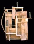 CONDOMINI - 77x73x22 [legno di recupero]