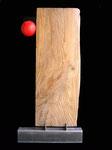 MONOLITE 104x50x12 [legno di recupero, resina]