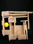 CONDOMINO - 57x53x22 [legno di recupero]