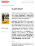 Communiqué de presse livre Dakar l'Insoumise, Edition Autrement