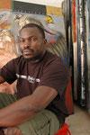 Soly Cissé, peintre. Livre Dakar l'Insoumise, Edition Autrement