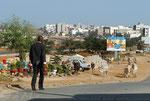 Ville Dakar, sans titre. Livre Dakar l'Insoumise, Edition Autrement