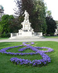 W.A.Mozart, Burggarten 1010 Wien
