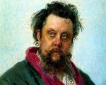 Modest Mussorgsky 1839-1881. Retrato de Iliá Repin (1881).