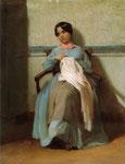 A Portrait of Léonie Bouguereau