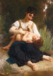 The Joys of Motherhood (Girl Tickling a Child)