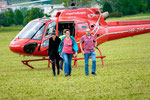 Elite Flights, AS 350 B2 Ecureuil, HB-ZPF, Rundflugtag Gewerbeausstellung UNDOB 2019, Obersiggenthal, überwältigt