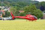 Elite Flights, AS 350 B2 Ecureuil, HB-ZPF, Rundflugtag Gewerbeausstellung UNDOB 2019, Obersiggenthal, on ground