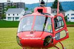 Elite Flights, AS 350 B2 Ecureuil, HB-ZPF, Rundflugtag Gewerbeausstellung UNDOB 2019, Obersiggenthal (3)