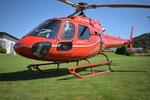 AS 350, HB-ZPF, Rundflugtage Rohrbach stellt aus