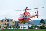Elite Flights, AS 350 B2 Ecureuil, HB-ZPF, Rundflugtag Gewerbeausstellung UNDOB 2019, Obersiggenthal, Take Off