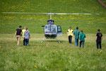 Bell 206 Jet Ranger, HB-XXO, Rundflugtage Wängi Aktiv 2018