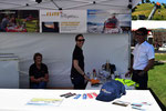 Rundflugtage Rohrbach stellt aus, Verkaufsstand