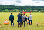 Elite Flights, AS 350 B2 Ecureuil, HB-ZPF, Rundflugtag Gewerbeausstellung UNDOB 2019, Obersiggenthal, ready to fly