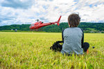 Elite Flights, AS 350 B2 Ecureuil, HB-ZPF, Rundflugtag Gewerbeausstellung UNDOB 2019, Obersiggenthal, wanna be in there