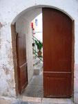 Blick in den Innenhof / Gallipoli
