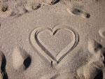 Sand-Herz