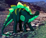 Stegosaurus by sart