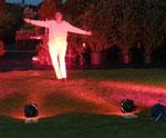 Licht im Garten - Probe - Pflanzenzentrum Freienwill, 2012