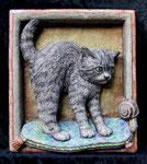 Gattino con lumaca - Cat with snail