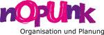 frau jenson, Logo für die Musikmanagement- und Bookingagentur 'nOpUnk'