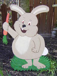 Ein gaaanz dicker Hase, der beim Kunden eine Fläche abdecken mußte.