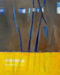 roerloos wankelen - acryl op doek, 80 x 100